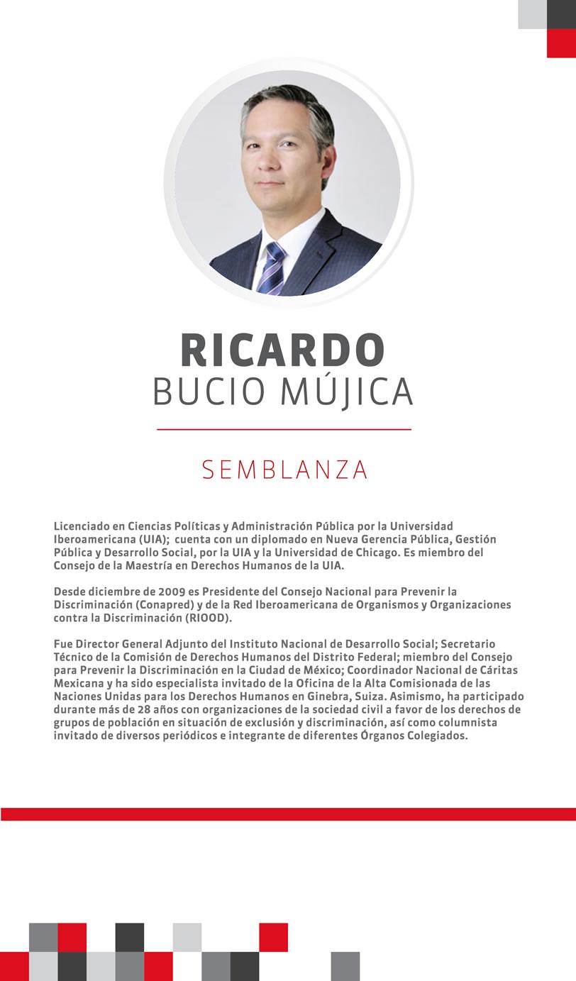 CV Ricardo Bucio Mujica